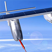 Solar Impulse airplane. Image: Solar Impulse