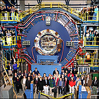 STAR detector of the RHIC (photograph: BNL)