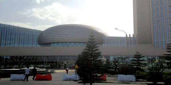 Across the road from the African Union Conference Centre, Addis Ababa, May 2015