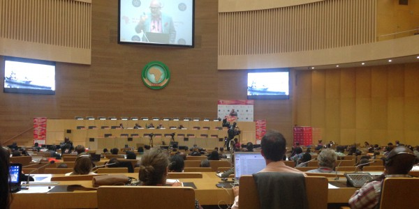 eLearning Africa conference, opening plenary, May 2015