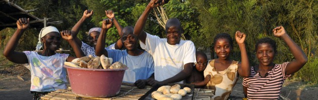 Bakers in Mozambique