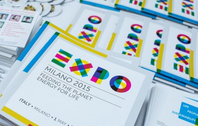 Milan EXPO 2015 flyers