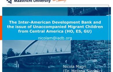 Three Essays on Contemporaneous Latin American *Development