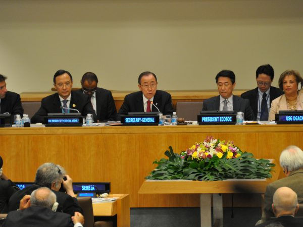 UN Secretary-General Ban Ki-moon, STI for SDGs Plenary 2016